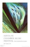 Blue Green Music Reproduction d'art par Georgia O'Keeffe