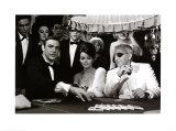 James Bond at the Casino, Thunderball Reproduction d'art