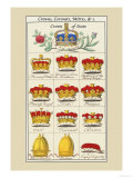 Crowns  Coronets and Mitres
