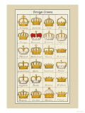 Foreign Crowns: Bohemia  Sardinia