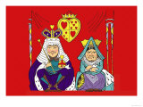 Alice in Wonderland: The King and Queen of Hearts