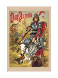 Don Quichotte Reproduction d'art