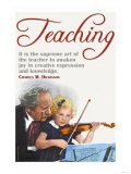 The Supreme Art of the Teacher
