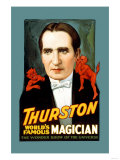 Thurston  World's Famous Magician the Wonder Show of the Universe