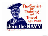The Service for Training and Trave  Join the Navy  c1917