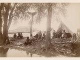 Pueblo Indians at Taos  New Mexico