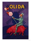 Don Quixote Riding a Pig