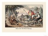 Henry VIII Monk Hunting