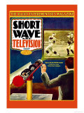 Short Wave and Television: New Electronic Gun Projects Large Television Images