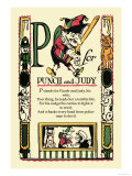 P for Punch and Judy