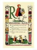 R for Red Riding Hood