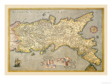 Map of Southern Italy