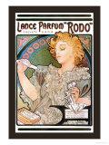 Rodo Perfume,Fragrance Reproduction d'art par Alphonse Mucha