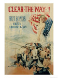 Clear the Way! Buy Bonds  Fourth Liberty Loan