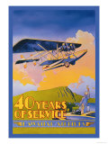Hawaiian Airlines  40 Years of Service