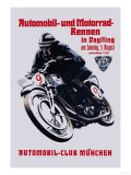 Automobile and Motorcycle Race  Munich