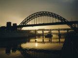 Tyne Bridge  Newcastle-Upon-Tyne  Tyneside  England  UK  Europe