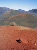 Haleakala Volcano  Island of Maui  Hawaiian Islands  USA