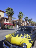 1950s Car on Main Street  Palm Springs  California  USA