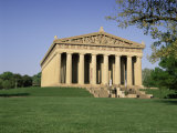 The Parthenon in Centennial Park  Nashville  Tennessee  United States of America  North America