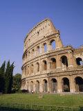 The Colosseum, Rome, Lazio, Italy, Europe Papier Photo par Gavin Hellier