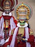 Kathakali Dance Performers  Kochi (Cochin)  Kerala State  India  Asia
