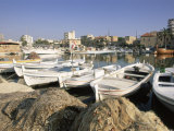 Fishing Boats in the Fishing Harbour  Tyre (Sour)  the South  Lebanon  Middle East