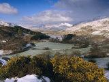 Mount Snowdon  Snowdonia National Park  Gwynedd  Wales  UK  Europe