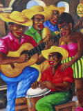 Cuban Paintings  Havana  Cuba  West Indies  Central America