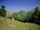 Sierra Dobros  Picos De Europa Mountains  (Green Spain)  Asturias  Spain