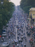 Busy Downtown Street  Ho Chi Minh City (Saigon)  Vietnam  Indochina  Asia