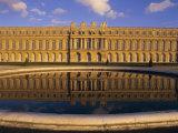 Chateau  Versailles  Unesco World Heritage Site  Ile-De-France  France  Europe