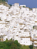 Casares  Typical White Town in Andalucia  Spain