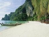 Ao Ton Sai Bay  Phi-Phi Don Island  Krabi Province  Thailand  Asia