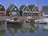 Traditional Fishing Village  Marken  Holland (The Netherlands)  Europe