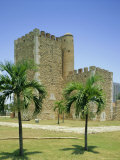Tower of Homage  Fortress  Santo Domingo  Dominican Republic  Caribbean  West Indies
