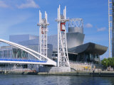 The Lowry  Theatre & Art Gallery  Salford Quays  Manchester  England