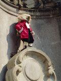 Manneken Pis  Brussels  Belgium