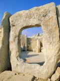 Hgar Quim Temple  Near Zurrieq  Malta  Mediterranean Sea  Europe