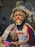 Chichicastenango  Dance of the Conquistadors  Guatemala  Central America