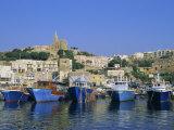Mgarr Harbour  Gozo  Malta  Mediterranean  Europe