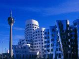 Neuer Zollhof  Dusseldorf  Nordrhein-Westfalen (North Rhine Wesphalia)  Germany  Europe