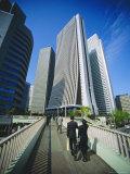 Financial District  Tokyo  Japan