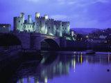 Conwy (Conway) Castle  Unesco World Heritage Site  Gwynedd  North Wales  UK  Europe