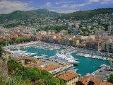 Port Lympia  Nice  Cote d'Azur  Alpes-Maritimes  Provence  France  Europe