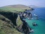 Coastline at Slea Head  Dingle Peninsula  County Kerry  Munster  Republic of Ireland (Eire)  Europe