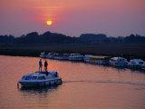 Boating  Acle  Norfolk Broads  Norfolk  England  UK  Europe
