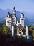 Neuschwanstein Castle  Fussen Bavaria  South Germany