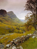 Glen Coe (Glencoe)  Highlands Region  Scotland  UK  Europe
