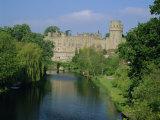 Warwick Castle  Warwick  Warwickshire  England  UK  Europe